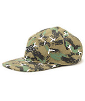 Empyre Duck Hunt Dark Green 5 Panel Hat
