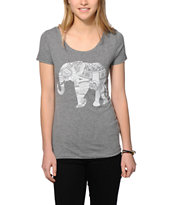 Empyre Elephant Ink Grey T-Shirt