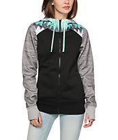 Empyre Elice Mint Zig Zag Tech Fleece Jacket