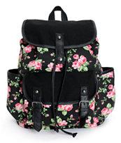 Empyre Emily Floral Rucksack Backpack
