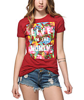 Empyre Floral Live In The Moment T-Shirt
