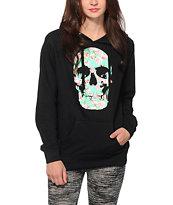 Empyre Floral Skull Hoodie