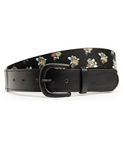 Empyre Flourish Black Floral Mixed Belt