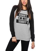 Empyre Frankie Sorry Not Sorry Crew Neck Sweatshirt