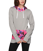 Empyre Frostier Pink Galaxy Tech Fleece Hoodie