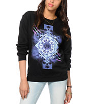 Empyre Geo Palm Crew Neck Sweatshirt