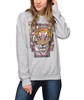 Empyre Geo Tiger Crew Neck Sweatshirt