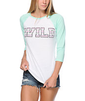Empyre Georgina Wild Tribal Baseball Tee