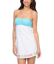 Empyre Girls Bailey White Strapless Dress