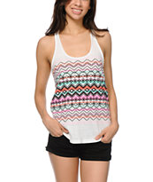Empyre Girls Casey Vanilla Ice Tribal Racerback Tank Top