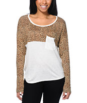 Empyre Girls Corey Animal Vanilla Ice Top