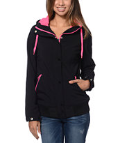 Empyre Girls Dovey Black Softshell Jacket