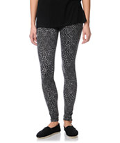 Empyre Girls Grey Animal Print Leggings