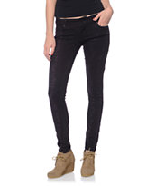Empyre Girls Logan Black Tie Dye Skinny Jeggings
