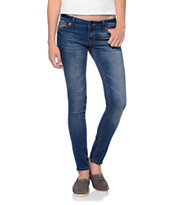 Empyre Girls Logan Medium Blue Skinny Jeggings