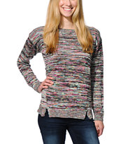 Empyre Girls Multicolor Spacedye Sweater