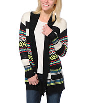 Empyre Girls Multicolor Stripe Wrap Sweater