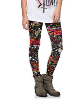 Empyre Girls Multicolor Tribal Print Leggings