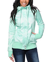 Empyre Girls Oracle Mint Galaxy Tech Fleece Jacket