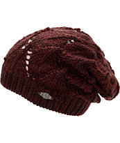 Empyre Girls Palmer Black Cherry Beanie