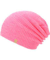 Empyre Girls Piper Knockout Pink Speckle Beanie