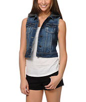 Empyre Girls Verona Indigo Denim Vest