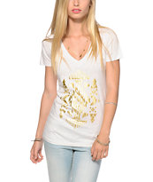 Empyre Golden Tapestry V-Neck T-Shirt