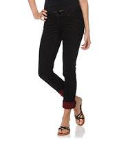 Empyre Hannah Dark Scarlet Skinny Jeans