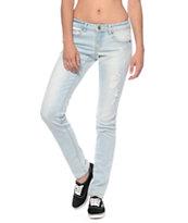 Empyre Hannah Destructed Sunbleach Skinny Jeans
