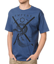 Empyre Hissstory Medium Blue Tee Shirt