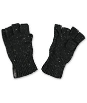 Empyre Hobby Black Fingerless Knit Gloves