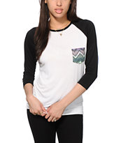Empyre Indira Chevron Pocket Baseball Tee