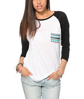 Empyre Indira Tribal Pocket Baseball T-Shirt