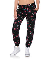 Empyre Ines Floral Woven Jogger Pants