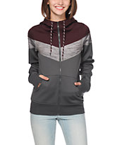 Empyre Insignia Blackberry Colorblock Tech Fleece Jacket