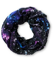 Empyre Intertwined Galaxy Print Infinity Scarf
