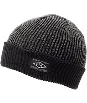 Empyre Jamie Heather Black Fold Beanie