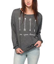 Empyre Kaden Arrows Dolman Top