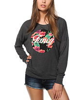 Empyre Kaden Fancy Floral Dolman Top