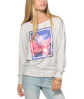 Empyre Kaden Live In the Moment Dolman Top