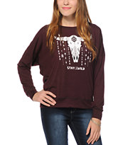 Empyre Kaden Stay Wild Dolman Top