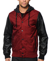 Empyre Kai Hooded Varsity Jacket