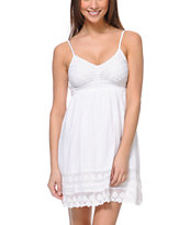 Empyre Kalli White Crochet Dress