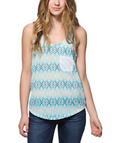 Empyre Kasem Pocket Tribal Tank Top