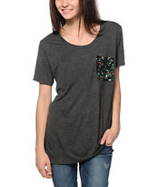 Empyre Kessler Geo Tribal Pocket Tee Shirt