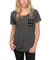Empyre Kessler Tribal Dot Pocket T-Shirt