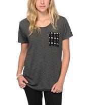 Empyre Kessler Tribal Dot Pocket T-Shirt