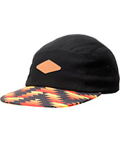 Empyre Kool Thing Black & Southwest Print 5 Panel Hat
