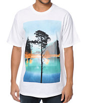 Empyre Lakeside Paradise White Tee Shirt