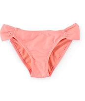 Empyre Laser Buzz Coral Tab Side Bikini Bottom